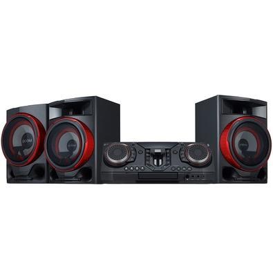 Mini System LG XBOOM, USB, Bluetooth, Rádio AM/FM, CD, MP3, 2900W RMS - CL88