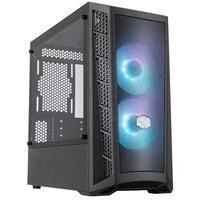 Gabinete Gamer Cooler Master MasterBox MB311L ARGB, Mini Tower, ARGB, com FAN, Lateral em Vidro - MCB-B311L-KGNN-S02