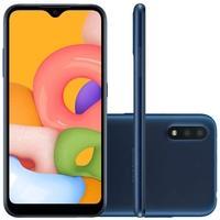 Smartphone Samsung Galaxy A01, 32GB, 13MP, Tela 5.7´, Azul - SM-A015MZBSZTO
