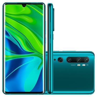 Smartphone Xiaomi Mi Note 10, 128GB, 108MP, Tela 6.7´, Verde Aurora Green + Capa Protetora - CX290VRD