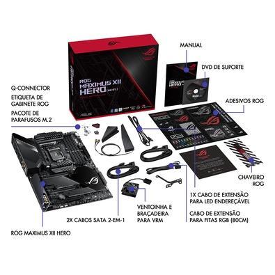 Placa-Mãe Asus ROG Maximus XII Extreme, Intel LGA 1200, eATX, DDR4