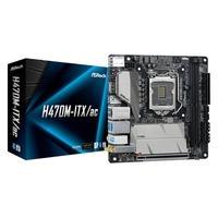 Placa-Mãe ASRock H470M-ITX/ac, Intel LGA 1200, Mini-ITX, DDR4
