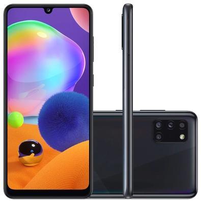 Smartphone Samsung Galaxy A31, 128GB, 48MP, Tela 6.4´, Preto - SM-A315GZKKZTO