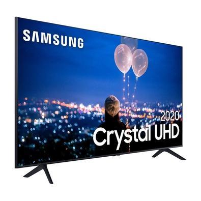 Smart TV 75´ UHD 4K Samsung, 3 HDMI, 2 USB, Wi-Fi, Bluetooth, HDR - UN75TU8000GXZD
