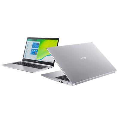 Notebook Acer Aspire 5 Intel Core i5-10210U, 8GB, 1TB, SSD 128GB, NVIDIA MX250, Windows 10 Home, 15.6´, Prata - A515-54G-56SB