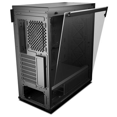 Gabinete Gamer DeepCool Macube 310, Mid Tower, Lateral em Vidro - MACUBE310 BK BR