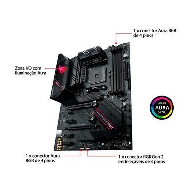 Placa-Mãe Asus ROG Strix B550-F Gaming, AMD AM4, ATX, DDR4
