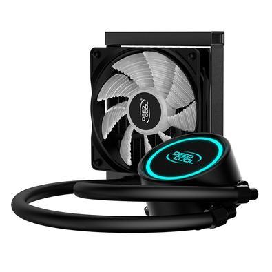 Water Cooler DeepCool Gammaxx L120T Blue, 120mm, LED Azul - GAMMAXX L120T BLUE