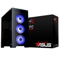 Computador Gamer BRX Powered By Asus AMD Ryzen 5 3400G, 16GB, 1TB, SSD 120GB, GTX 1650 4GB, Windows 10 Pro - PCR53400G16GB1TB120GB1650W10B