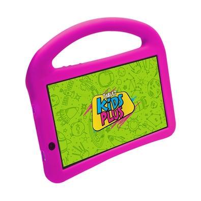 Tablet DL Kids Plus, Bluetooth, Android 7.1, 8GB, Tela de 7´, Preto com Capa Rosa - TX398PCR