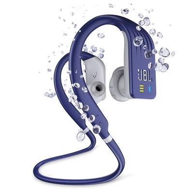 Fone de Ouvido Esportivo Bluetooth JBL Endurance Dive, Recarregável, À Prova d´Água, Azul - JBLENDURDIVEBLU