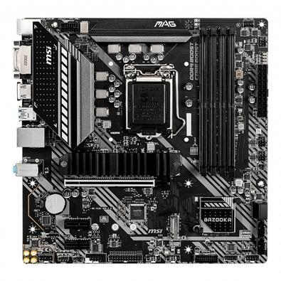 Placa-Mãe MSI MAG B460M Bazooka, Intel LGA 1200, mATX