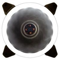 Cooler FAN Bluecase Ring, 120mm, LED Branco - BFR05WXCASE