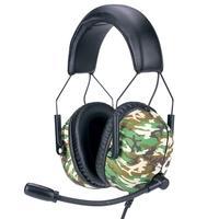 Headset Gamer Husky Tactical Woodland, 7.1 Som Surround, Drivers 2x 30mm + 2x 40mm - HS-TTC-WL