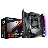 Placa-Mãe Gigabyte H470I Aorus Pro AX, Intel LGA1200, Mini-ITX, DDR4