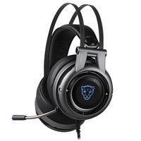 Headset Gamer Motospeed H18, Led Azul,  7.1 Virtual, Drivers 50mm, USB, Cinza - FMSHS0083CIZ