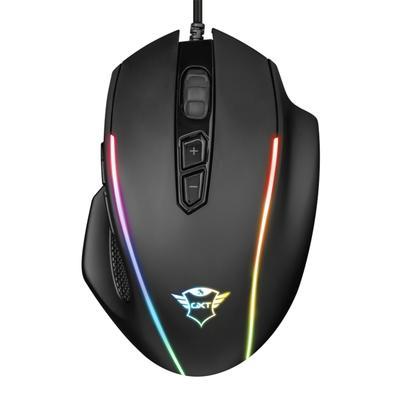 Mouse Gamer Trust GXT 165 Celox, RGB, 8 Botões, 10000DPI - 23092