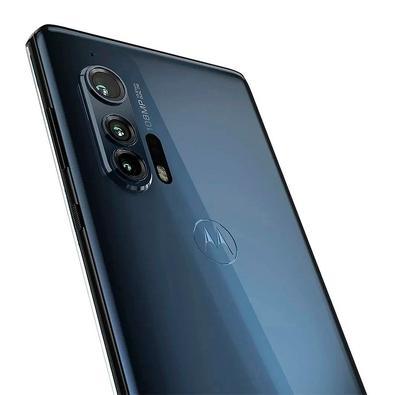 Smartphone Motorola Edge+, 256GB, 108MP, Tela 6.7´, Cinza + Capa Protetora - PAHV0004BR