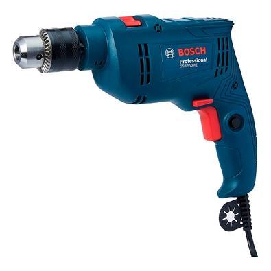 Furadeira de Impacto Bosch GSB 550 RE, 550W, com 3 Brocas, 220V - 06011B60E1-000