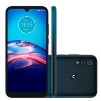 Smartphone Motorola Moto e6s, 64GB, 13MP, Tela 6.1´, Azul Navy + Capa Protetora - PAJD0057BR