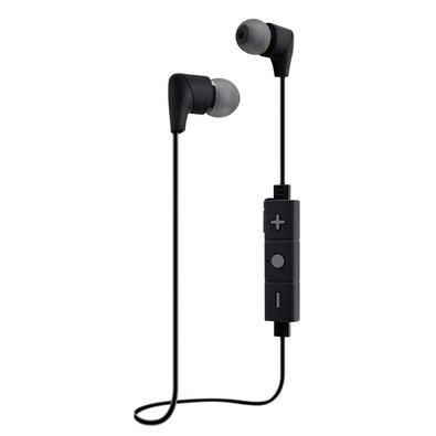 Fone De Ouvido Bluetooth I2GO Street Go, Com Microfone, Preto com Cinza - 965