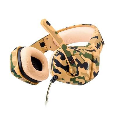 Headset Gamer Multilaser Warrior Osborn, Drivers 40mm, Army - PH336