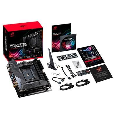 Placa-Mãe Asus ROG Strix X570-I Gaming, AMD X570, Mini-ITX, DDR4