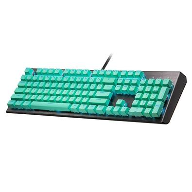 Keycaps para Teclado Cooler Master, 104 Teclas, US, Verde Menta - KC-NPDMF1-US