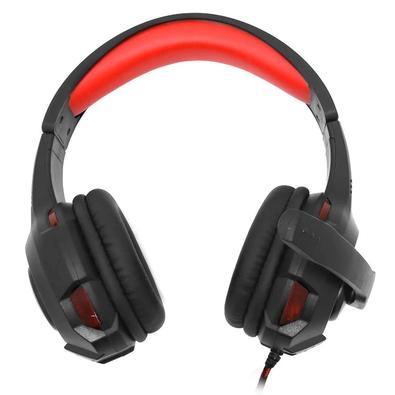 Headset Gamer Bright, LED Vermelho - 468
