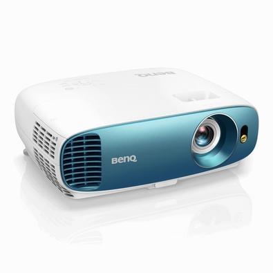 Projetor BenQ 4K UHD HDR, 3000 Lúmens, HDMI, USB, Branco/Azul - TK800M