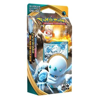 Starter Deck Pokémon Espada e Escudo 3, Escuridão Incandescente, Darmanitan - 89087