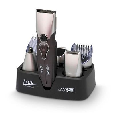 Kit Masculino Lizz, Maquina de Corte/Acabamento Total Groom 6 em1, Bivolt - TO1000