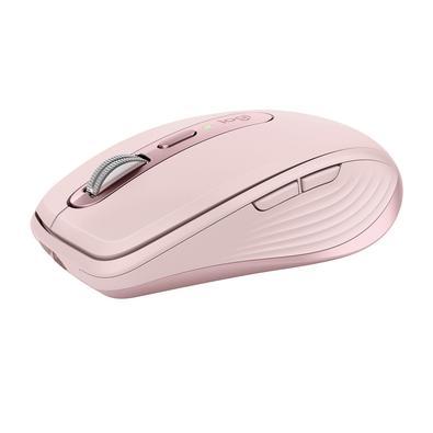 Mouse sem fio Logitech MX Anywhere 3, USB Unifying ou Bluetooth, Mac, iPad, PC, Linux, Chrome, Rosa - 910-005994