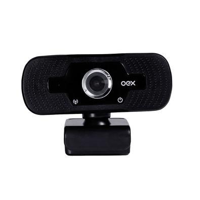 Webcam Oex Full HD, 1080p, 30fps, USB - W100