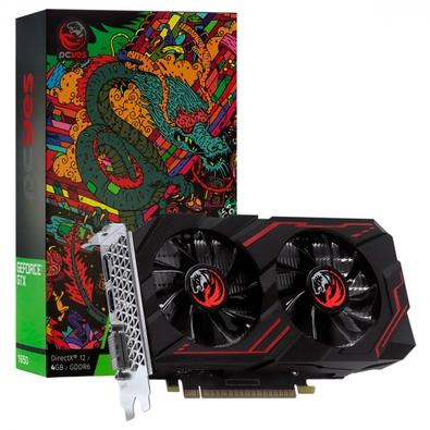 Placa de Vídeo PCYes Graffiti Series GTX 1650, 4GB, 8Gbps, GDDR6 -  PA1650412820DR6