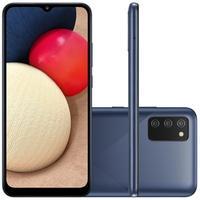 Smartphone Samsung Galaxy A02s, 32GB, RAM 3GB, Octa-Core, Câmera Tripla, Azul - SM-A025MZBVZTO