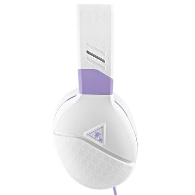 Headset Gamer Turtle Beach Recon Spark, Compatível com PC PS4 PS5 Xbox Nintendo Switch e Mobile, Drivers 40mm, Branco - TBRS00012