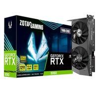 Placa de Vídeo ZOTAC GAMING GeForce RTX 3060 Twin Edge - 15 Gbps, 12GB, GDDR6, Ray Tracing - ZT-A30600E-10M