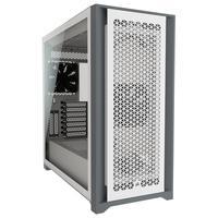 Gabinete Gamer Corsair 5000D Airflow, Mid Tower, 2x FANs, Lateral em Vidro Temperado, Branco - CC-9011211-WW