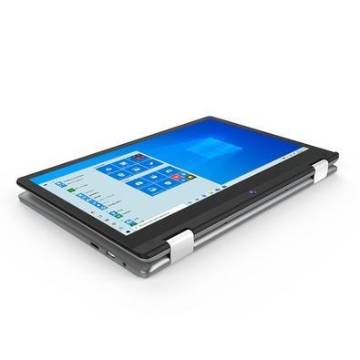 Notebook Positivo Duo Intel, 4GB, SSD 64GB, 2 em 1, 2.4GHz,  11.6´, Full HD, Windows Pro