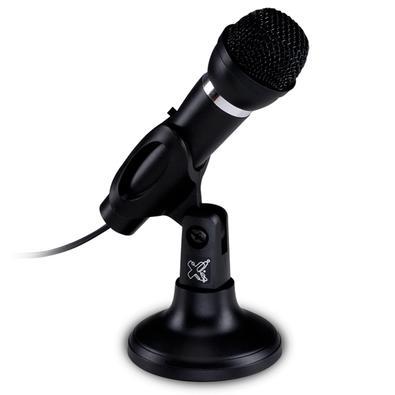 Microfone Maxprint Studio Max, Conexão P2 3.5mm, com Suporte Ajustável - 60000052