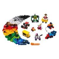 LEGO Classic - Blocos e Rodas, 653 Peças - 11014