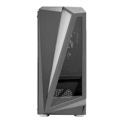 Gabinete Gamer K-Mex BlackHawk 05QI, LED RGB, Lateral em Vidro, Preto  - CG05QIRH0010B0X