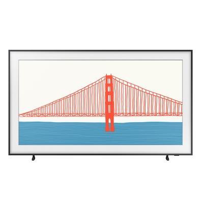 Smart TV Samsung 43´ 4K QLED 43LS03A, Processador IA, HDR10+, Design Slim, Molduras Customizáveis, Modo Arte - QN43LS03AAGXZD