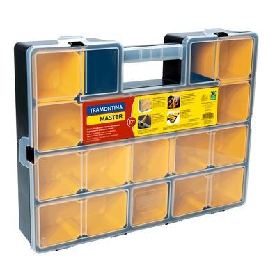 Maleta Organizadora Plástica 17´ Tramontina com Módulos Organizadores e Divisórias Móveis - 43805015