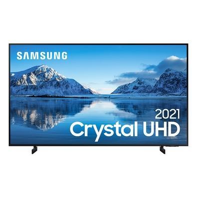 Samsung Smart TV 65´´ Crystal UHD 4K 65AU8000, Dynamic Crystal Color, Borda Infinita, Visual Livre de Cabos, Alexa Built In - UN65AU8000GXZD