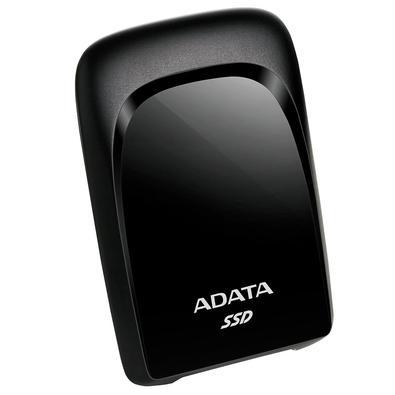 SSD Externo Adata SC680 480GB, USB 3.2 Tipo C, Resistente à Choque, Preto - ASC680-480GU32G2-CBK
