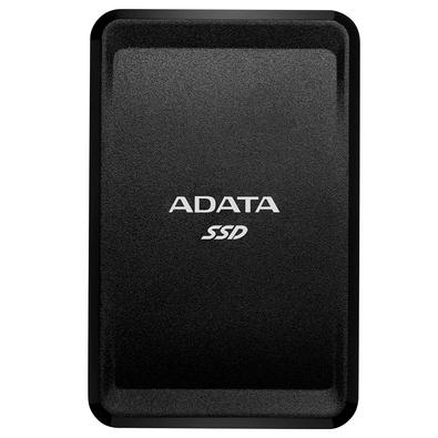 SSD Externo Adata SC685 2TB, USB 3.2 Tipo C, Resistente à Choque, Preto - ASC685-2TU32G2-CBK