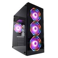 PC Gamer Concórdia Glass Intel Core i5-10400F,8GB DDR4, SSD 480GB, RX 550 4GB, Fonte 500W, Windows 10 - 40554