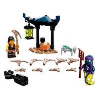 LEGO Ninjago - Conjunto de Combate Épico - Cole vs Guerreiro Fantasma, 51 Peças - 71733
